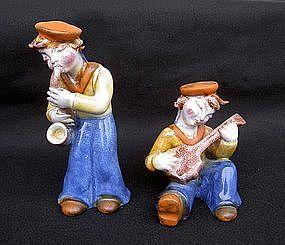 Maria Ráhmer figurines of sailor boys