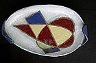 French modernist non-figural dish