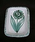 Vallauris Picault square dish