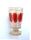 Bohemian ruby glass beaker