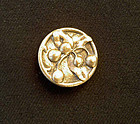 Arts and Crafts brass button