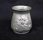Kayserzinn small Jugendstil vase