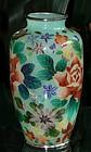 Japanese Cloisonne Plique-a-Jour Vase