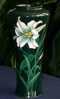 Japanese Cloisonne  Moriage Vase - Hattori or Kawade