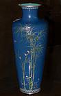 Japanese Cloisonne Enamel Vase - Hayashi Kodenji