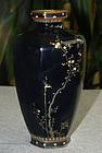 Japanese Cloisonne Enamel Vase - Hayashi or Miwa
