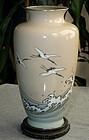 Japanese Cloisonne Enamel Vase - Hattori
