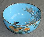 Japanese Cloisonne Enamel Bowl -  Ando