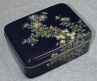 Fine Japanese Cloisonne Enamel Box