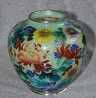 Excellent Japanese Cloisonne Vase - Plique A Jour