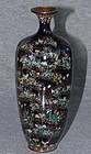 Very Fine Japanese Cloisonne Enamel Vase - Ota