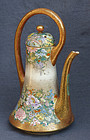Large Beautiful Japanese Satsuma Teapot Signed Kinkozan