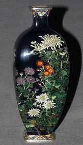 Japanese Cloisonne Enamel Vase - Hayashi