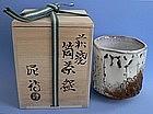 Hagi Ware Tea Bowl by DEISHI SHIBUYA