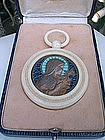 """Magnificent vitreaux medallion """"St.Therese"""""""