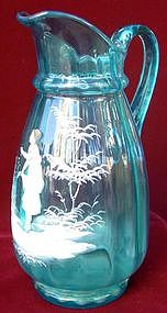 Mary Gregor Glass Pitcher