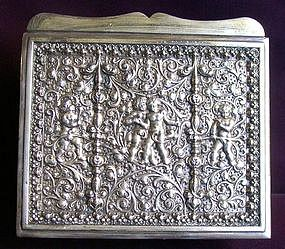 Silver Plated Pewter WMF Box