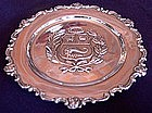 Peruvian Sterling Silver Wall Plate