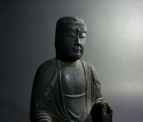 Japanese Buddha Statue Kannon Bosatsu
