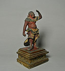 Japanese Wood Statue of Seitaka Doji