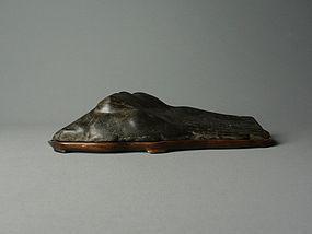 Japanese Natural Viewing Stone Kamogawa-ishi