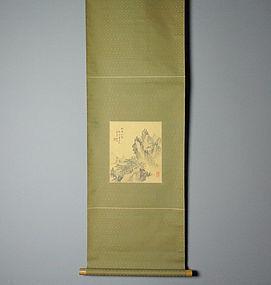 Japanese Scroll Painting by Asai Ryuto