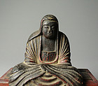 Japanese Wooden Goddess Statues
