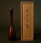 Japanese Bronze Gourd Ikebana Vase