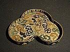 Japanese Shippo Cloisonne Tea Tray Dragon Motif