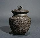 Japanese Bronze Incense Burner