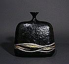 Japanese Kanshitsu Lacquer Vase by Ogura Gengo