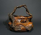 Japanese Mingei Hanakago, Flower Basket