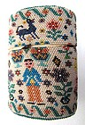 Antique Beadwork Case, Man, Woman, Ducks