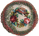 19th C Beaded Table Decoration, Floral