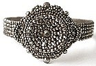 Rare Early 19th C Cut Steel Bangle