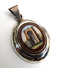 Superb Architectural Micro Mosaic Pendant