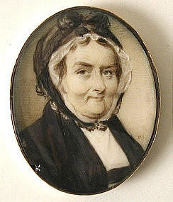 Portrait Miniature of Lady by McMor(e)land