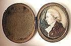 Miniature Portrait of  Gent, English, 1820