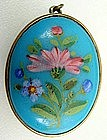 Sweet Enamel Double-Sided Locket, Bright Colors