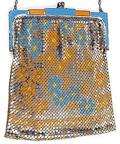 Deco Whiting and Davis Mesh Purse, Round Mesh
