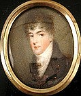 Miniature Portrait attributed to Mee