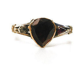 Rare Georgian Sentimental Ring, Motto