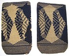 Microbeaded Pouches, Pair, Vienna Secessionist