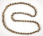 Fabulous Antique 14k Gold Chain Necklace