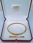 Vintage 18K gold Unisex Cartier Aldo Cipullo bracelet