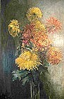 Early 20th Century European still life oil painting