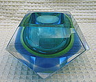 Murano Art Glass paperweight vase