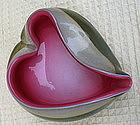 Mid-century Italian Barbini Murano glass bowl