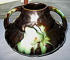 Arts and Crafts pottery vase made in Belgium