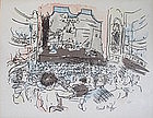 Original limited edition lithograph by Raoul Dufy